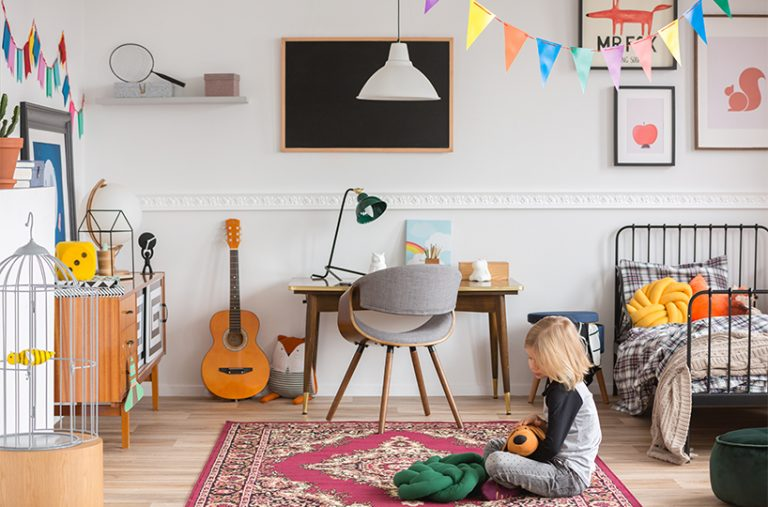 Taking care of kids rooms